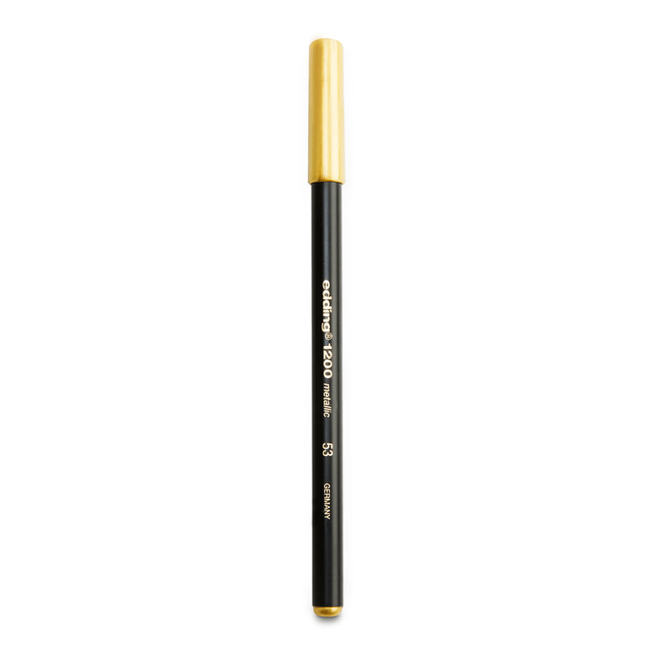 EDDING Pennarello oro metallico 386195600000 Colore Giallo oro N. figura 1