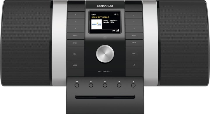MultyRadio 4.0 - Noir/Argent Chaînes HiFi compactes Technisat 785300151117 Photo no. 1