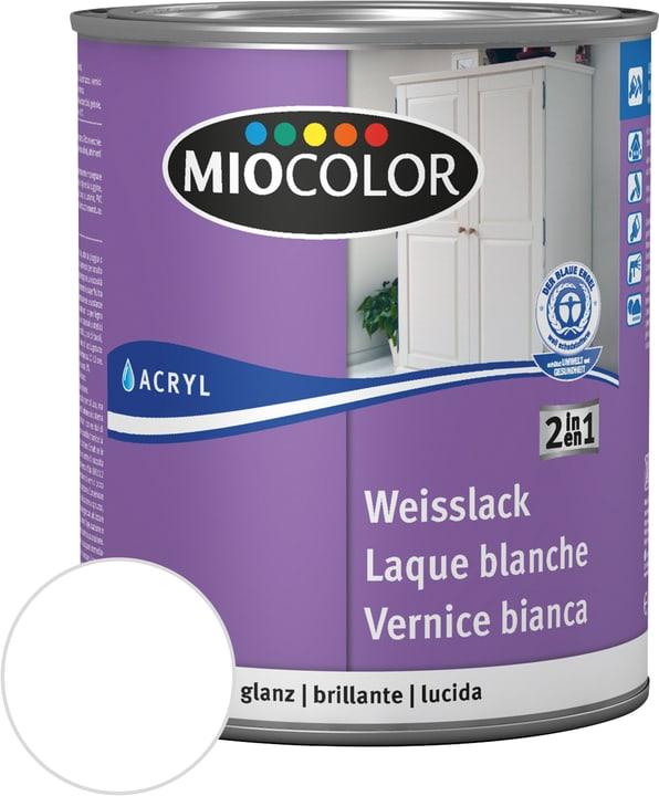 Laque acrylique blanche brillante Blanc 375 ml Miocolor 660562500000 Contenu 375.0 ml Couleur Blanc Photo no. 1