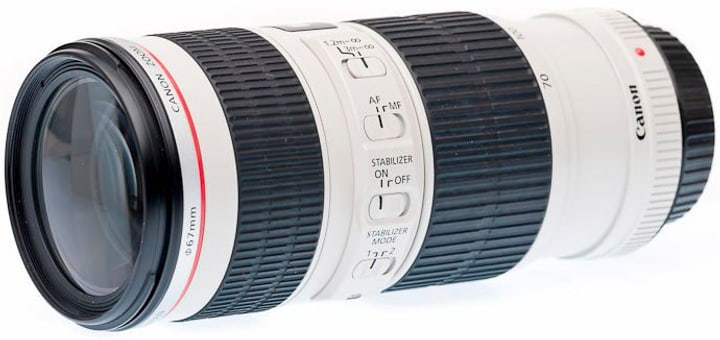 EF 70-200mm f/4L IS USM Objectif - CH Version Objectif Canon 785300124939 Photo no. 1