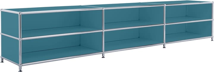 FLEXCUBE Buffet bas 401813730166 Dimensions L: 227.0 cm x P: 40.0 cm x H: 44.5 cm Couleur Pétrole Photo no. 1