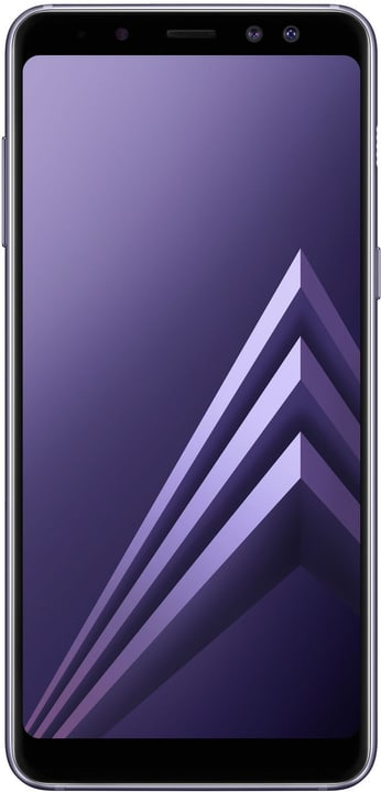 Galaxy A8 DS 32GB Orchid Gray Smartphone Samsung 785300131925 Photo no. 1