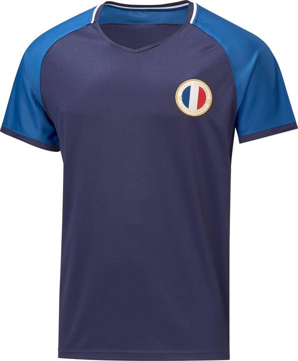 Frankreich Fussball-Fan-Shirt Extend 498283700343 Farbe marine Grösse S Bild-Nr. 1