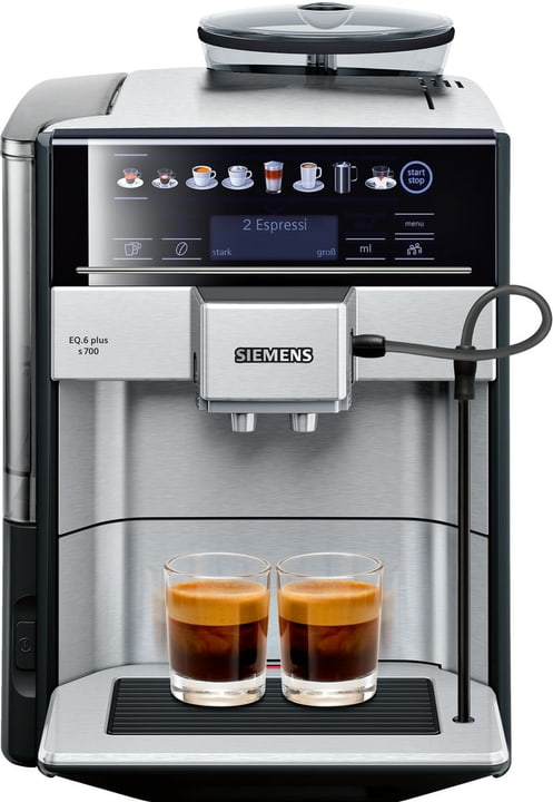 Machines à café automatiques EQ.6 plus s700 Machines à café automatiques Siemens 785300134870 N. figura 1