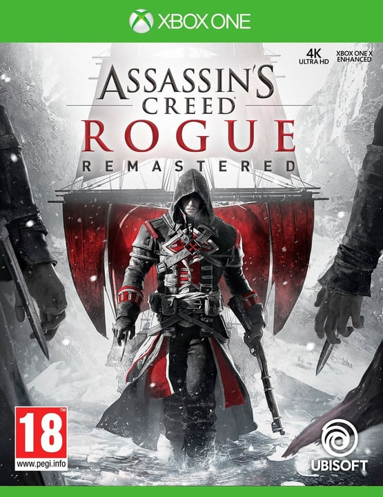 Xbox One - Assassin's Creed Rogue - Remastered (D/F/I) Box 785300132156 N. figura 1