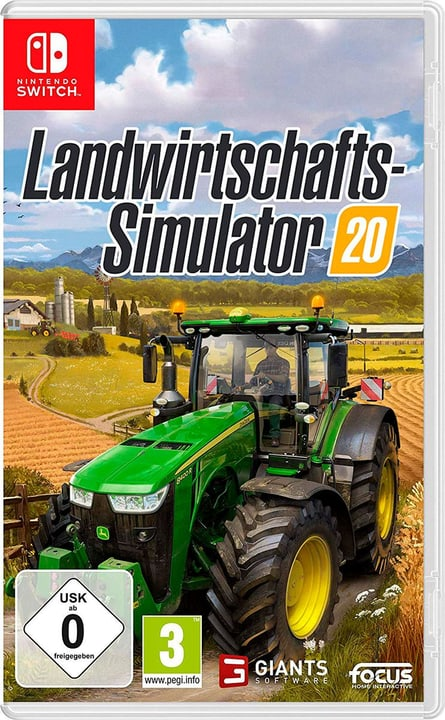 NSW - Landwirtschafts-Simulator 20 Box 785300148921 Bild Nr. 1