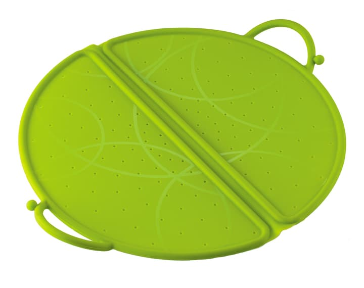 TURI Protezione antispruzzo Kuhn Rikon Design 441120703000 Colore Verde Dimensioni P: 31.0 cm x A: 2.5 cm N. figura 1