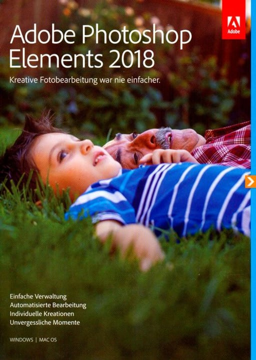 PC/Mac - Photoshop Elements 2018 (D) Fisico (Box) Adobe 785300130200 N. figura 1
