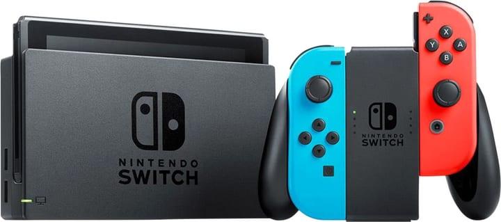 Switch Neon-Rot/Neon-Blau V2 2019 Console Nintendo 785444000000 Photo no. 1