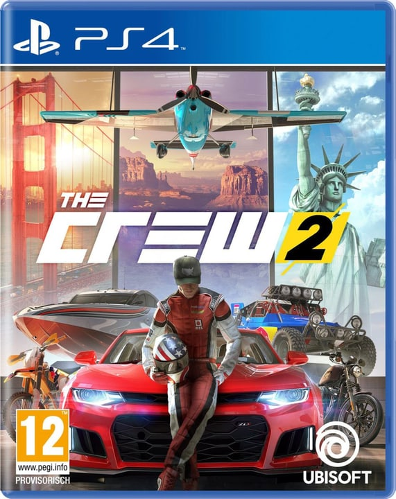 PS4 - The Crew 2 Fisico (Box) 785300128781 Lingua Francese, Tedesco, Italiano Piattaforma Sony PlayStation 4 N. figura 1