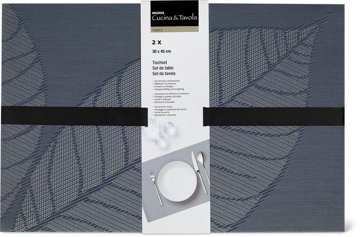 Set da tavola 2pz Cucina & Tavola 700367800080 Colore grigio N. figura 1