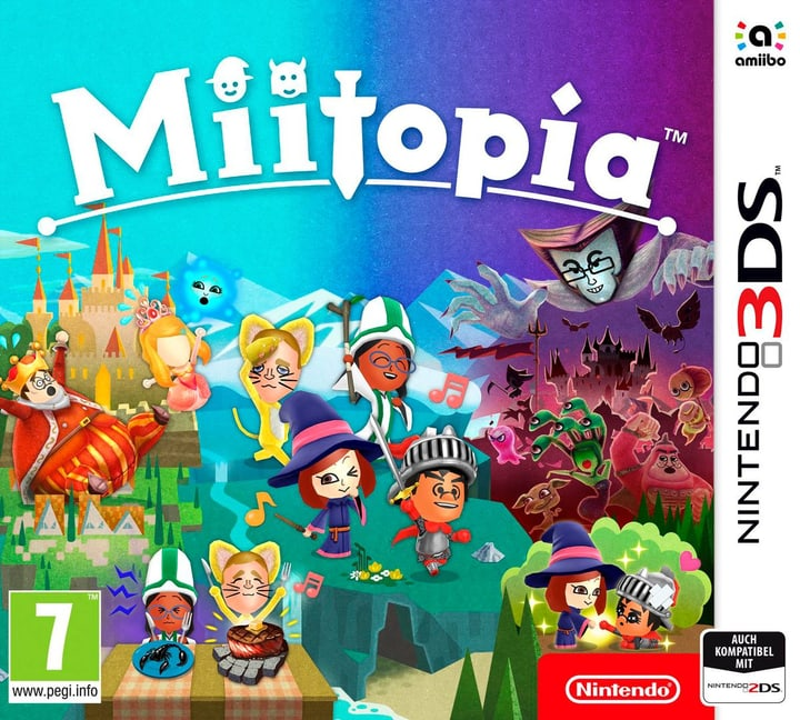 Miitopia 3DS (I) Physisch (Box) 785300122548 Bild Nr. 1