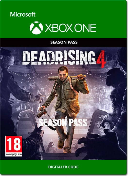 Xbox One -Dead Rising 4 Season Pass Download (ESD) 785300137302 Photo no. 1