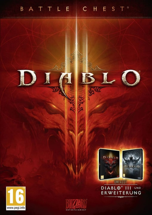 PC - Diablo III Battlechest Box 785300121977 N. figura 1