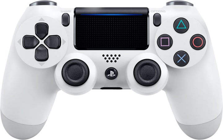 PS4 Wireless DualShock Controller v2 bianco Controller Sony 798072100000 N. figura 1
