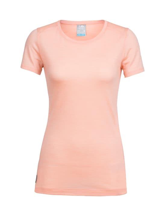 Sphere Low T-shirt à manches courtes pour femme Icebreaker 462783500656 Couleur aprico Taille XL Photo no. 1