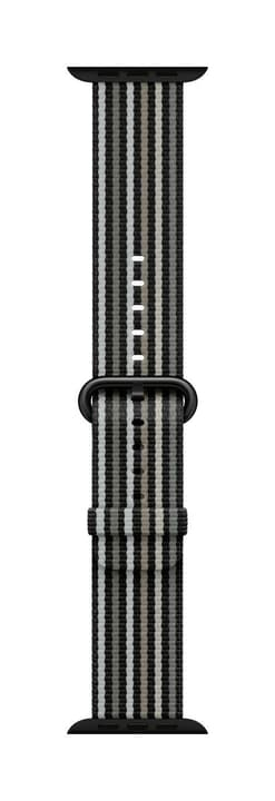 38mm Black Stripe Woven Nylon Apple 785300135077 N. figura 1