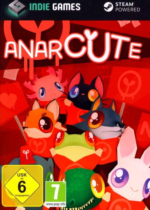 PC - Indie Games: Anarcute Box 785300122275 Photo no. 1