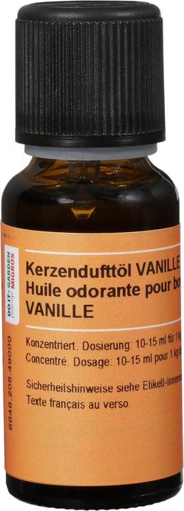 Kerzenduftöl Vanille Flüssig Exagon 664620649000 Sujet Vanille Bild Nr. 1