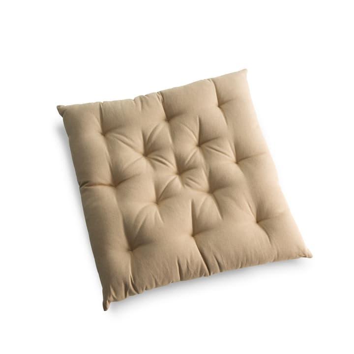 TABORA Coussin d'assise 378036200000 Couleur Brun clair Dimensions L: 40.0 cm x P: 40.0 cm Photo no. 1