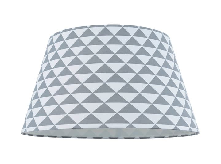 TREND Schirm 40cm Dreieckchen 420804804084 Farbe Grau, Weiss Grösse T: 40.0 cm x H: 22.0 cm x D: 40.0 cm Bild Nr. 1