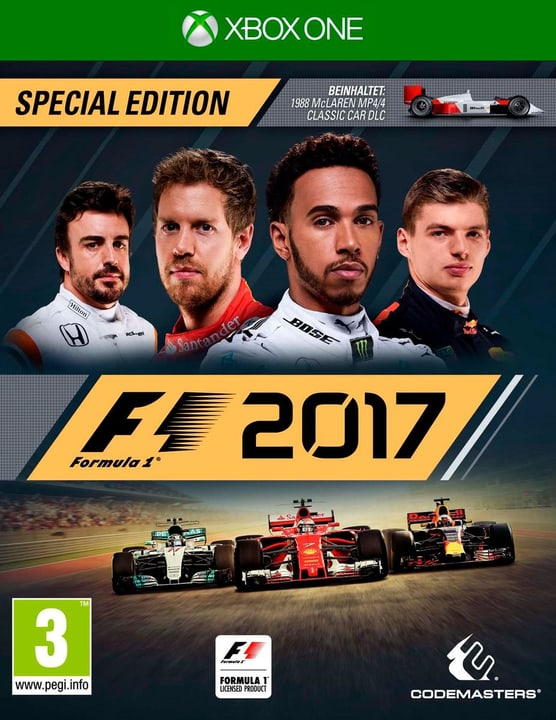 Xbox One - F1 2017 Special Edition Physique (Box) 785300122632 Photo no. 1