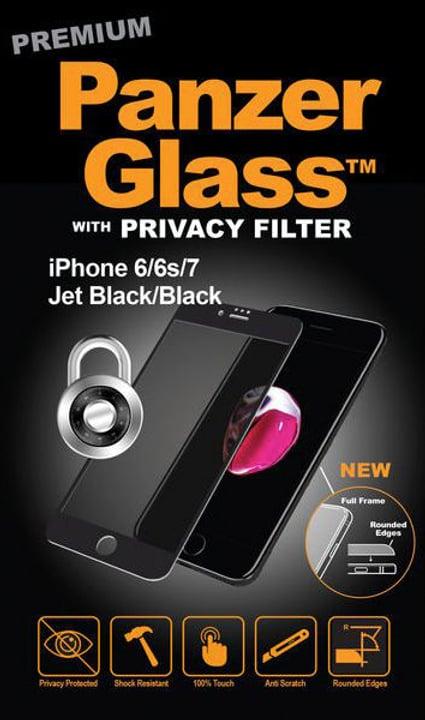 Privacy nero Vetro temperato Panzerglass 785300134568 N. figura 1
