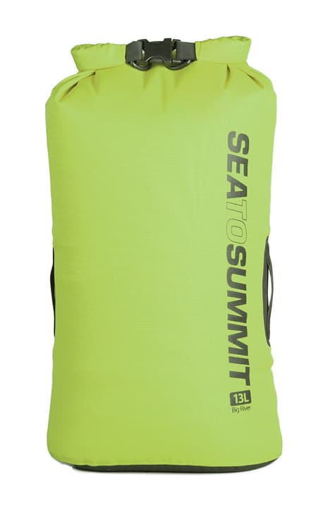 Big River Dry Bag 13 Wasserdichter Packsack Sea To Summit 491258400460 Farbe Grün Grösse M Bild-Nr. 1