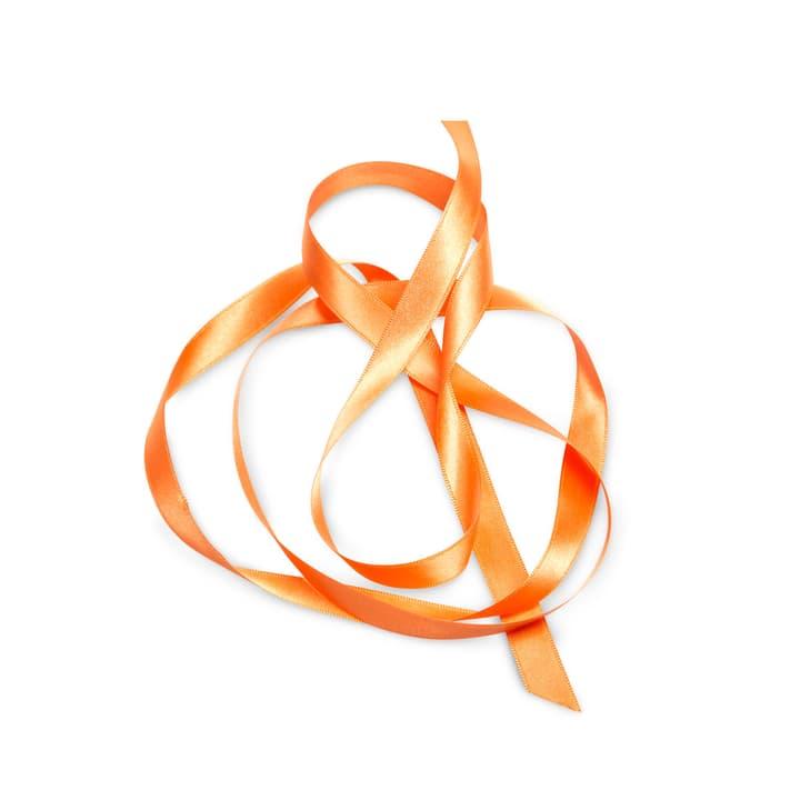 KIKILO Satinband 12m/15mm 386112100000 Grösse B: 1.2 cm x T: 1.5 cm x H: 0.1 cm Farbe Orange Bild Nr. 1