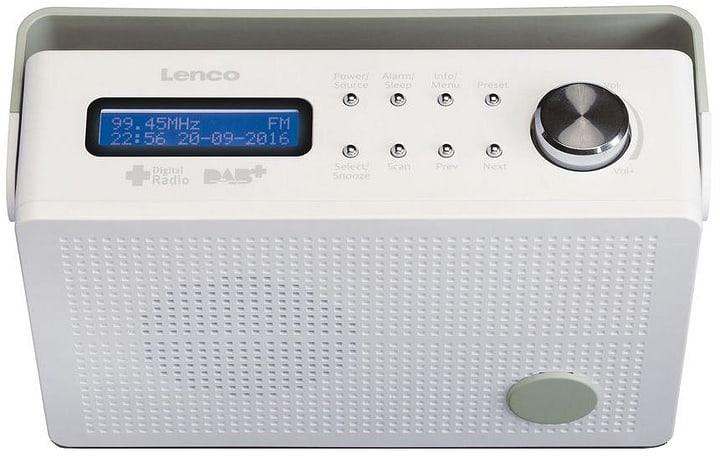 PDR-030 white Radio DAB+ Lenco 785300148638 Photo no. 1