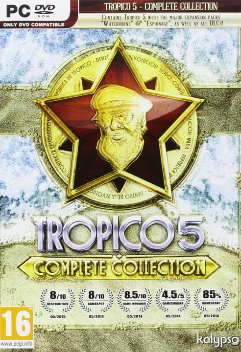PC - Tropico 5 Complete Collection Digitale (ESD) 785300133697 N. figura 1