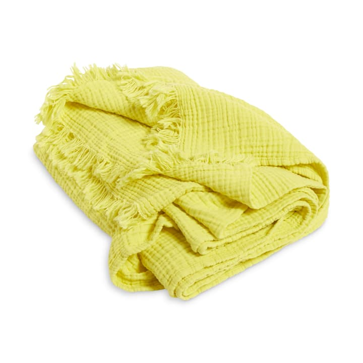 CRINKLE Plaid HAY 378179104350 Couleur Jaune Dimensions L: 150.0 cm x H: 210.0 cm Photo no. 1