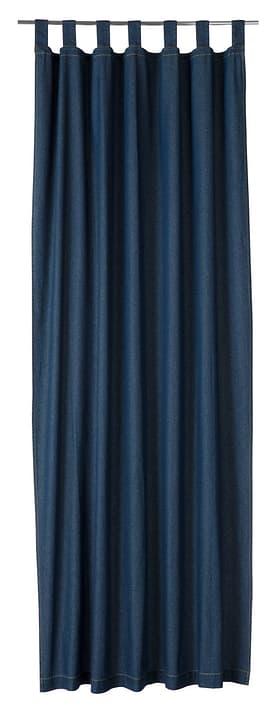 ELIAN Rideau prêt à poser nuit 430260020640 Couleur Bleu Dimensions L: 140.0 cm x H: 245.0 cm Photo no. 1