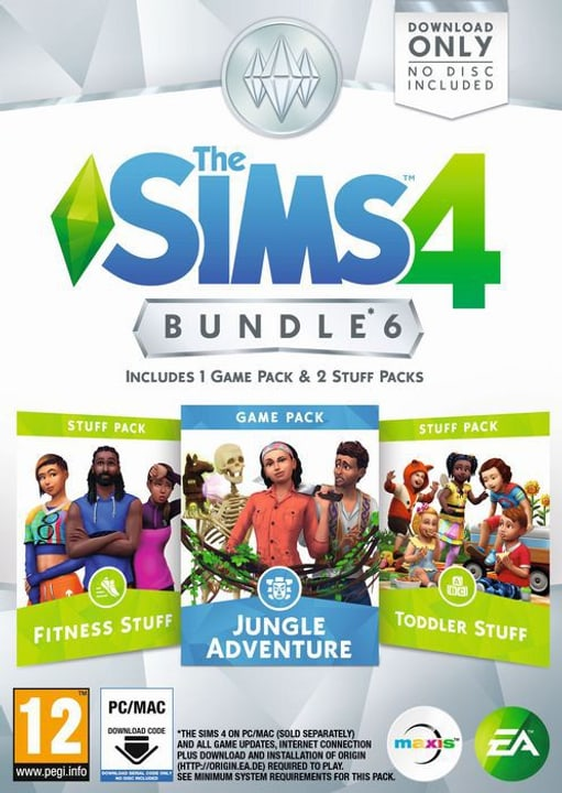 PC - The Sims 4 - Bundle 6 Physisch (Box) 785300133168 Bild Nr. 1