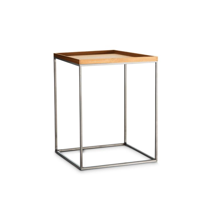 COFFEE table d'appoint 362231300000 Dimensions L: 40.0 cm x P: 40.0 cm x H: 44.0 cm Couleur Chêne Photo no. 1