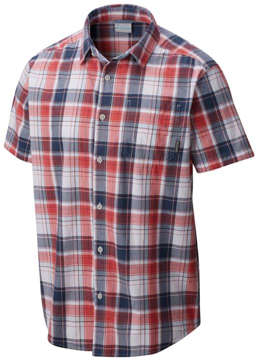 Thompson Hill Herren-Kurzarmhemd Columbia 461088400430 Farbe rot Grösse M Bild-Nr. 1