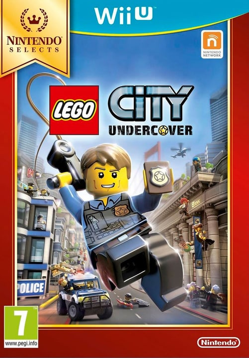 Wii U - Selects LEGO City Undercover Box 785300120998 Photo no. 1