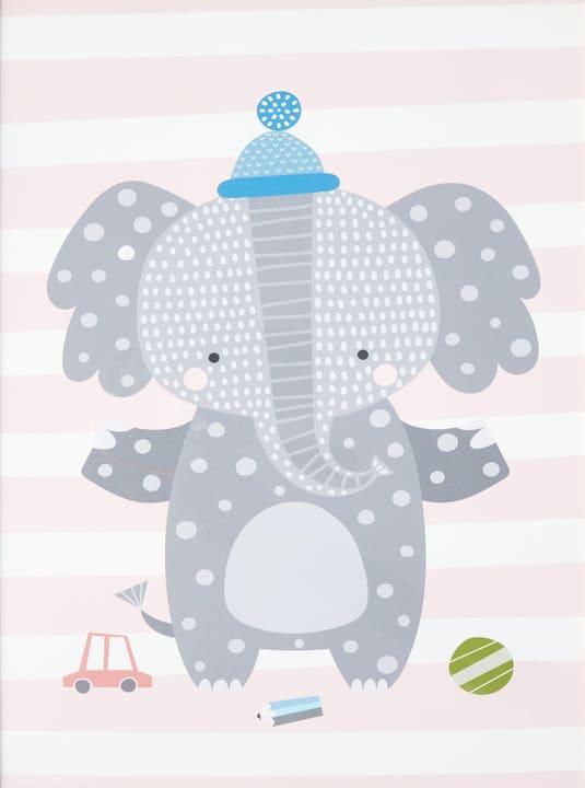JASPER Canvas Elefant 431837924316 Grösse B: 20.0 cm x T: 2.5 cm x H: 30.0 cm Bild Nr. 1