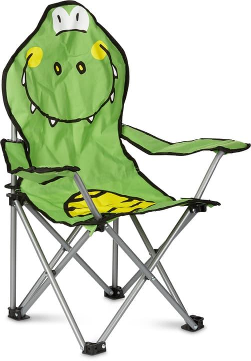 Kinder-Trekking Sessel Krokodil 753019700060 Farbe Bezug Grün Grösse B: 35.0 cm x T: 35.0 cm x H: 65.0 cm Bild Nr. 1