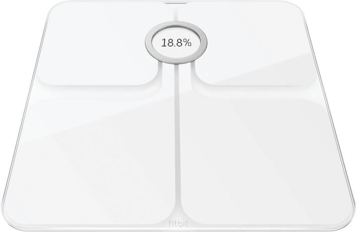 Aria 2 bianco Bilancia Wi-Fi Fitbit 798427100000 N. figura 1