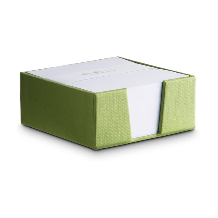 BIGSO CLASSIC Notizzettelhalter 386196300000 Grösse B: 11.0 cm x T: 11.0 cm x H: 5.0 cm Farbe Grün Bild Nr. 1