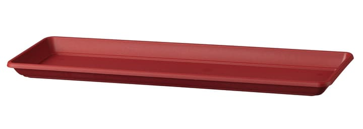 Untersetzer Miramare Deroma 658709300000 Grösse L: 38.0 cm x B: 18.0 cm x H: 3.2 cm Farbe Rot Bild Nr. 1