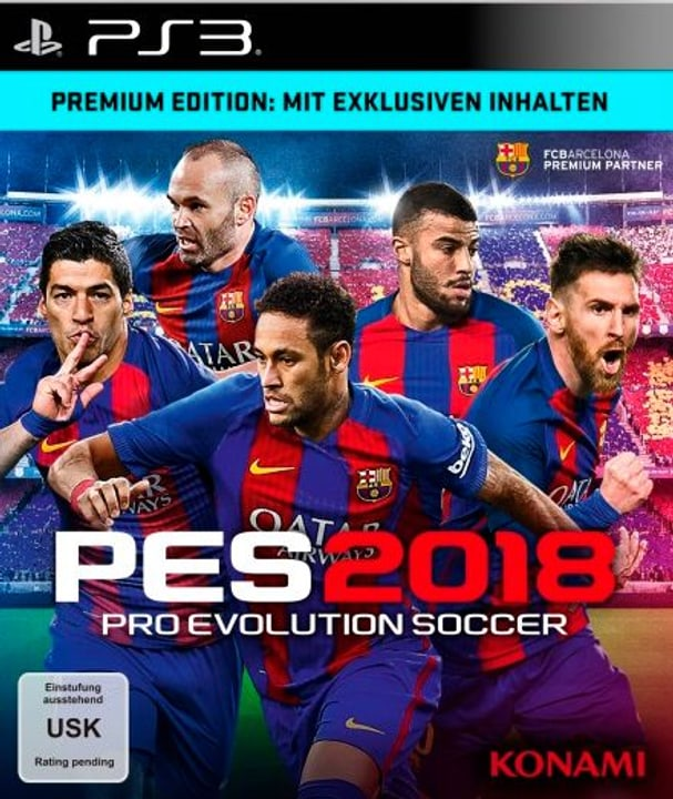 PS3 - PES 2018 - Pro Evolution Soccer 2018 Premium Ed. 785300122642 Photo no. 1
