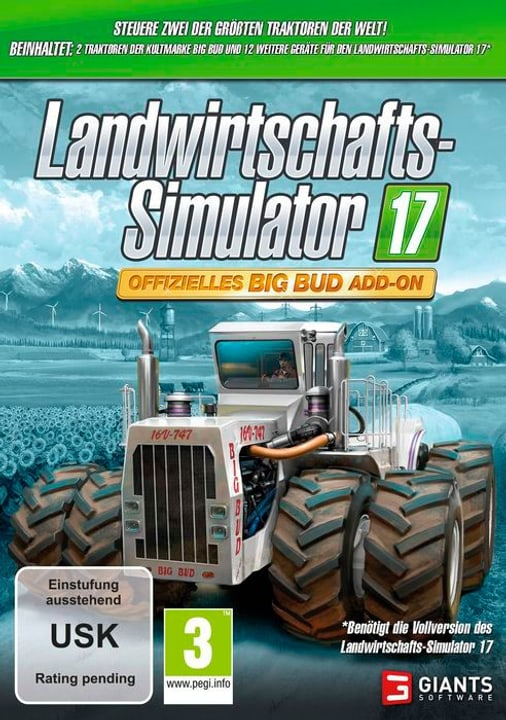 PC - Landwirtschafts-Simulator 17: Offizielles Big Bud (Add-On) Box 785300122473 Photo no. 1