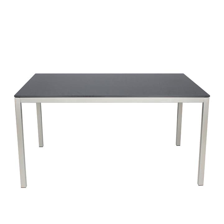 Tisch LOCARNO mit HPL-Platte, Dark grey, 140 cm 753179400000 Bild Nr. 1