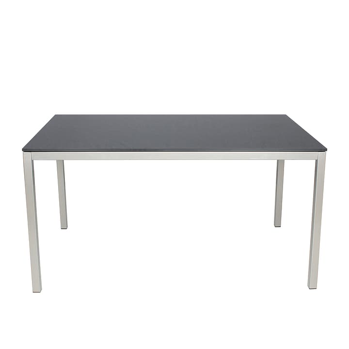 Tavolo LOCARNO con piano in HPL, Dark grey, 220 cm 753179600000 N. figura 1