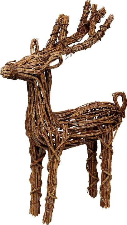 Articoli decorativi Cervo Do it + Garden 657109600001 Colore Marrone Taglio L: 33.0 cm x L: 11.0 cm x A: 59.0 cm N. figura 1