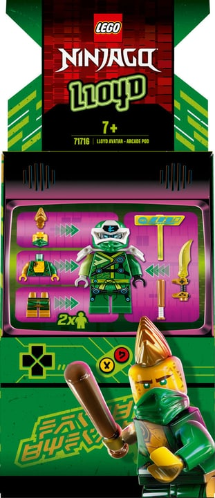 LEGO Ninjago 71716 Avatar Lloyd Arcade Kapsel 748734700000 Photo no. 1