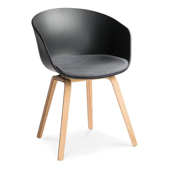 AAC 22 Stuhl HAY 366118700020 Grösse B: 52.0 cm x T: 59.0 cm x H: 79.0 cm Farbe Schwarz Bild Nr. 1
