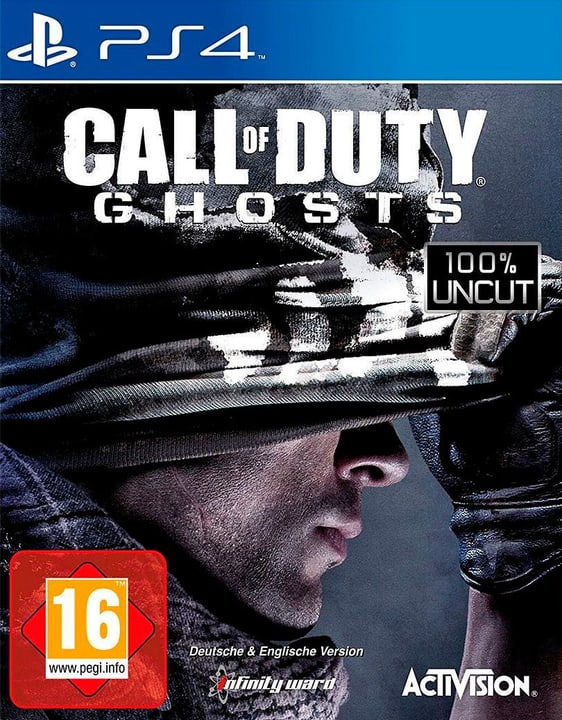 PS4 - Call of Duty: Ghosts Fisico (Box) 785300129601 N. figura 1